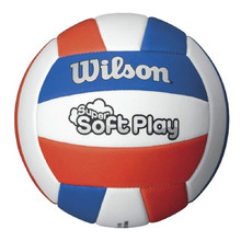 Volleyball Ball Wilson Super Soft Play WTH3595XB White-Blue-Red