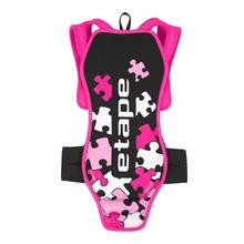 Children's Spine Protector Etape Junior Pro Black-Pink