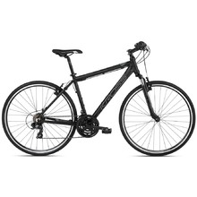 "Men's Cross Bike Kross Evado 1.0 28"" – 2021 - Black/Graphite"