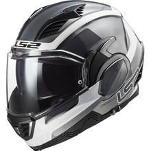 Flip-Up Motorcycle Helmet LS2 FF900 Valiant II Orbit P/J