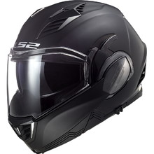 Flip-Up Motorcycle Helmet LS2 FF900 Valiant II Solid P/J