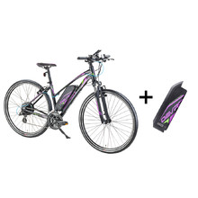 Women's Cross E-Bike Devron 28162 with Replacement Battery 14.5Ah – 2017 - Black