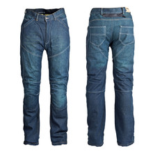 Man moto jeansy ROLEFF Aramid - Blue