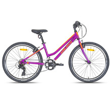 "Junior Girls' Bike Galaxy Lyra 24"" – 2018 - Purple"