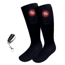 Heated Knee Socks Glovii GQ2 - Black