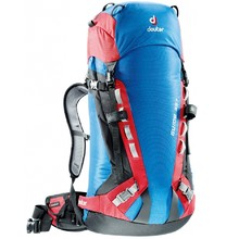 Mountain-Climbing Backpack DEUTER Guide 35+ 2016 - Blue-Red