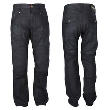 Men's moto jeans W-TEC Roadsign - Black