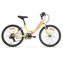 "Children's Girls' Bike Galaxy Ida 20"" – 2020 - Yellow"