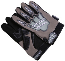 Motorcycle Gloves WORKER Jet - Sand-Black