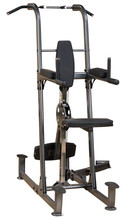 Weight-Assisted Dip and Pull-Up Station Fusion