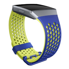 Replacement Smart Watch Band Fitbit Ionic Cobalt/Lime