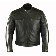Men's Leather Jacket B-STAR Aces