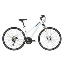 "Women's Cross Bike KELLYS PHEEBE 30 28"" – 2019 - White"