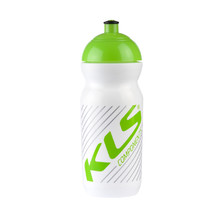 Water bottle KELLYS GOBI 0,5 l - White-Green