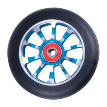 Spare wheel for scooter FOX PRO Raw 03 100 mm - Black-Blue