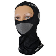 Multifunctional protecting balaclava W-TEC Raper - Black-Grey