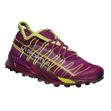 Women's Trail Shoes La Sportiva Mutant - Plum/Apple Green