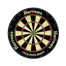 Bristle Dartboard Harrows Let's Play Darts