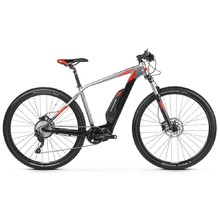 "Mountain E-Bike Kross Level Boost 1.0 29"" – 2019 - Black / Graphite / Red Matte"