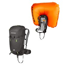 Avalanche Backpack Mammut Light Removable Airbag 3.0 30L - Graphite