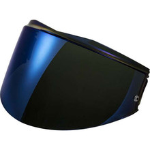 Replacement Visor for LS2 FF399 Valiant Helmet - Iridium Blue