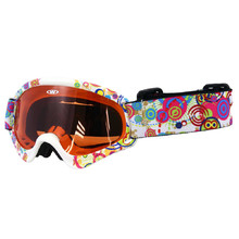 Kids ski goggles WORKER Sterling with graphics - Z12-WHT- white graf.
