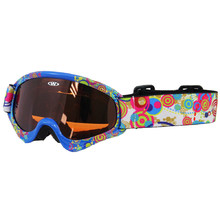 Kids ski goggles WORKER Sterling with graphics - Z12_BLU blue graf.