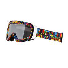 Ski Goggle WORKER Cooper with Graphic Print - Coloured Graphic