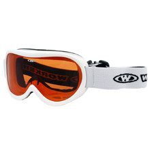Kids ski goggles WORKER Miller - White