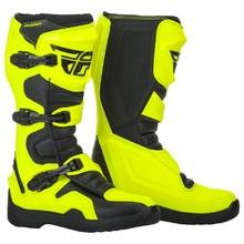 Motorcycle Boots Fly Racing Maverik 2019 - Hi-Vis/Black