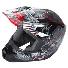 Children's Motocross Helmet Fly Racing Kinetic Youth Invasion - Grey