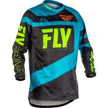 Motocross Jersey Fly Racing F-16 2018 - Blue-Black