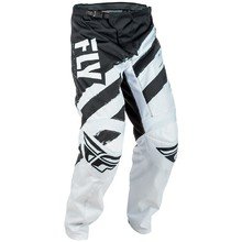 Motocross Pants Fly Racing F-16 2018 - Black-White