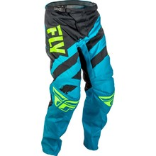 Motocross Pants Fly Racing F-16 2018 - Blue-Black