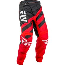 Motocross Pants Fly Racing F-16 2018 - Red-Black