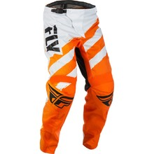 Motocross Pants Fly Racing F-16 2018 - Orange-White