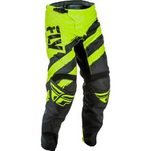 Motocross Pants Fly Racing F-16 2018 - Black/hi-viz