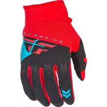 Motocross Gloves Fly Racing F-16 2018 - Red-Black