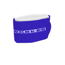 Fastening straps for cross country bands WORKER - Blue