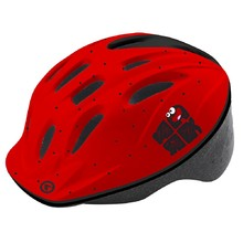 Children's Bicycle Helmet KELLYS Mark 2018 - Red-Black