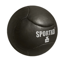 Leather Medicine Ball SportKO Medbol 8kg