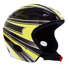 WORKER Meribel Helmet - Black-Yellow