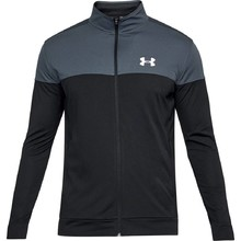 Men's Sweatshirt Under Armour Sportstyle Pique Jacket - Stealth Gray