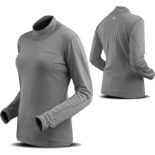 Women's Sweatshirt Trimm MODENA fleece - Grey