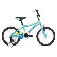"Children's Bike Kross Mini 4.0 16"" – 2019 - Turquoise / Blue / Green Glossy"