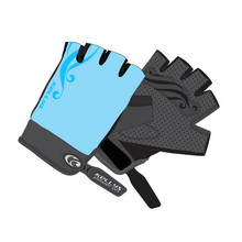 Women's Cycling Gloves KELLYS SUNNY SHORT - Blue