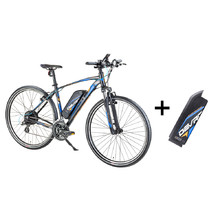 Cross E-Bike Devron 28161 with Replacement Battery 14.5Ah – 2017 - Black