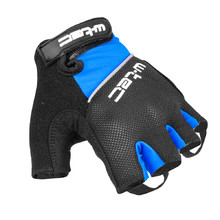 Cycling Gloves W-TEC Bravoj AMC-1018-15 - Blue-Black