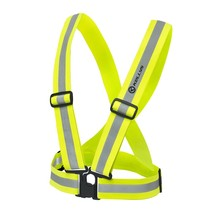 Reflective Suspenders Kellys Moonlight - Reflective Yellow
