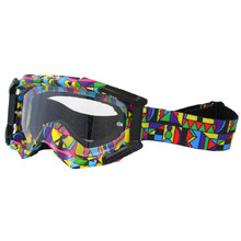 Motorcycles glasses W-TEC Major with graphics - Coloured Graphic